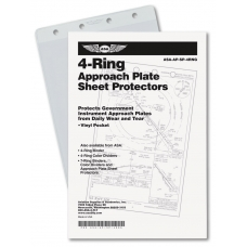 Vinyl Sheet Protector Pockets 4-Ring