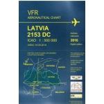 Latvijas aeronavigācijas karte. VFR devītais izdevums