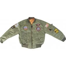 Bērnu pilota jaka MA-1